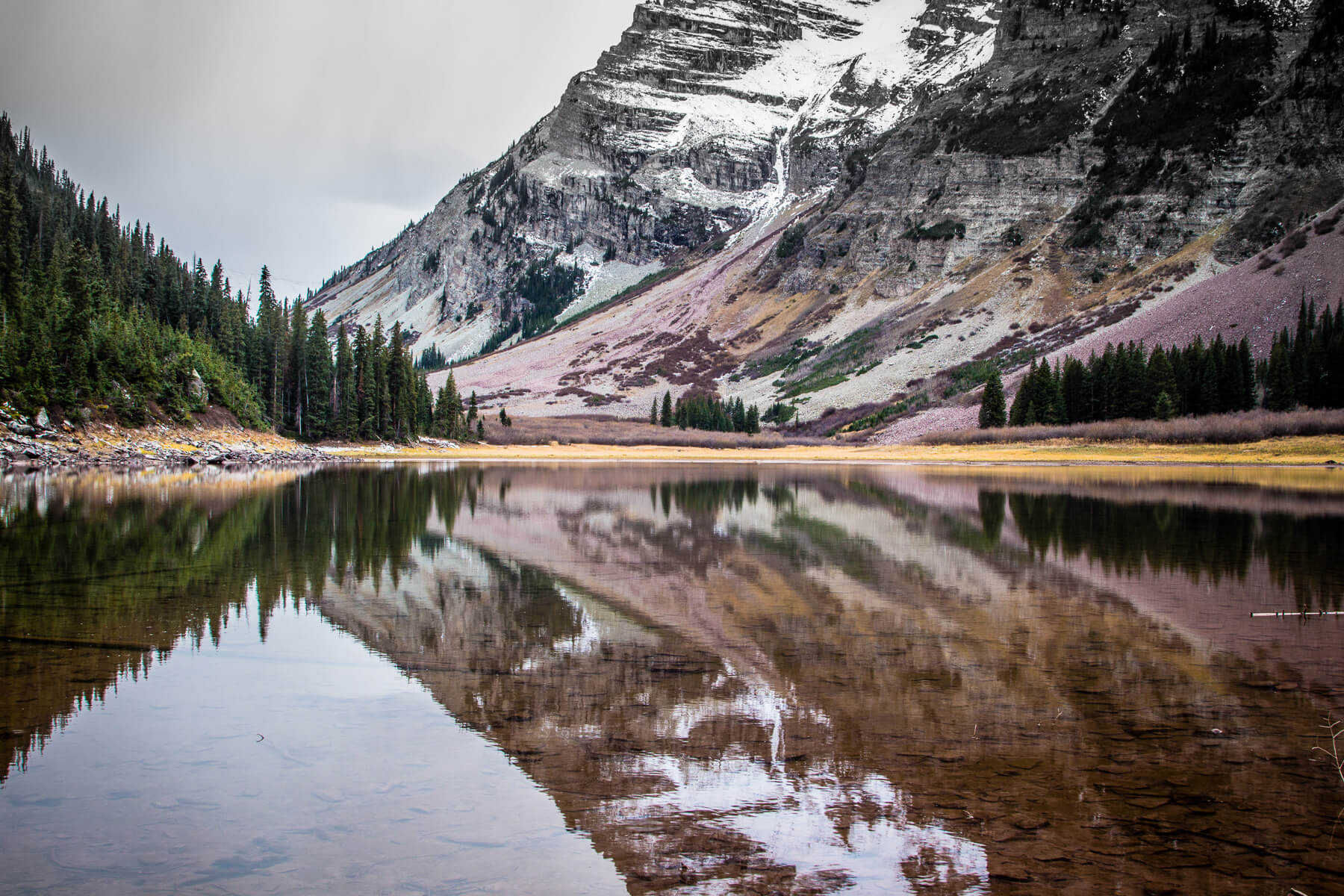 Fall Exploring In The Maroon Bells Wilderness Pass The